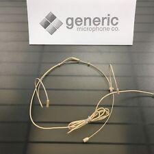 """Headset Dual Ear - AKG, GTD EV-Telex Peavey in Skin, Black Omni 3/16"""" US Seller"""