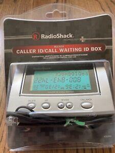 Radio Shack Advanced Caller ID Box Call Waiting Display 43-3903 Desk or Wall Box