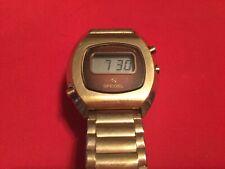 Speidel Time Modulator vintage 1970's LCD men's watch