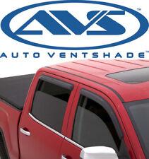 AVS 94309 Tape-On Window Ventvisors 4Piece Smoke 2007-2018 Toyota Tundra Crewmax