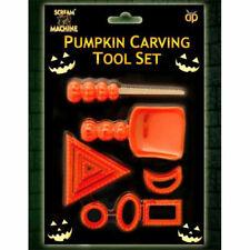 9 Pcs Halloween PUMPKIN CARVING TOOL SET Designs Craft Tools Kit Party Decor UK