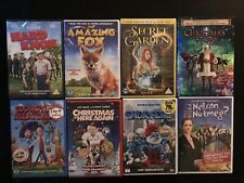 Kids / Family Dvd Bundle. 8 Dvd Movies. New And Sealed.