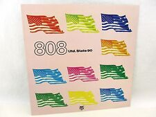FLAT square - 808 STATE Utd. State 90 - double sided, 1990 promo