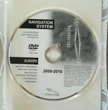 DVD Navigation JAGUAR 2010  DEUTSCHLAND FRANCE BENELUX   XF X250 XK MY TYPE X150
