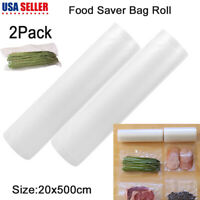Kitchen Fresh Bag Vaccum Food Saver Storage Bags for Vacuum Sealer US