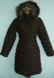 M&S Per Una Padded Duck Down & Feather Coat Jacket size small