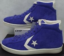 New Mens 12 Converse PL 76 Mid Star Player Pro Grape Leather Shoes 155337C $95