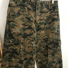Boys Large Camouflage Trooper Army Pants 14-16 Uniform Camo Military Soldier