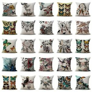 set of 100 seat cushion cover bohemian tree of life floral cushion