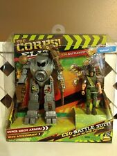 The Corps Elite EXO-BATTLESUIT SuperMech Armor ACTION FIGURE Curse Bad Guy NEW
