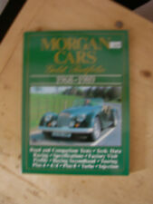 Morgan 4/4 +8,+4,  Morgan Cars Gold Portfolio 1968-1989  ungelesen.