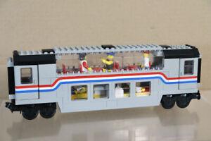 LEGO 10002 SYSTEM AMTRAK SLEEPER CAR RAILROAD TRAIN SET COACH