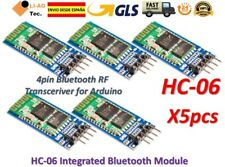 5pcs HC-06 Bluetooth Serial Transceiver Module 4PIN Slave Master RS232 HC06