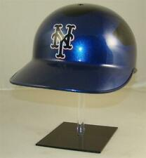 New York Mets Blue Fade Authentic Rawlings Baseball Catchers / Coaches Helmet