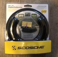 Scosche GPS Weighted Dashboard Mat for GPS, Anti Skid/Slip GPSDM