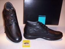 Scarpe classiche alte scarponcini D'Alessandro uomo polacchini pelle neri 43 44