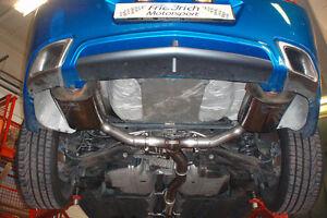FMS Duplex Sportauspuff Opel Insignia Sth & Flh ab Bj 06/2011 2WD 1.4l Turbo 103