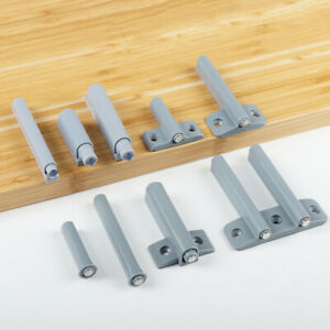 Drawer Door Cabinet Catch Push To Open Magnetic Tip Latch Touch Release Grey 0B