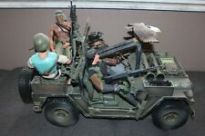 21st Century GI Joe Ultimate Soldier Navy Seal Scale 1:6 Special Operation Jeep