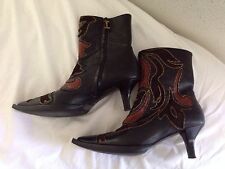 Iceberg Made In Italy Ankle Boots 36 US 6  $1245
