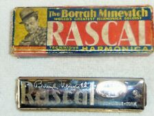 "Vintage (1934) Borrah Minevitch ""Rascal"" Harmonica with Box"