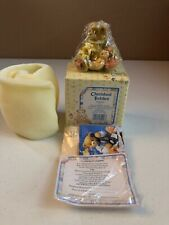 Cherished Teddies Lily Preview Light Teddy Bear with Flower Figurine