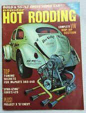 July 1970 Vintage Popular Hot Rodding VW Volkswagen Magazine '57 Chevy Ford 429