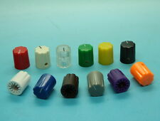 "10 x Effects Pedal Control Knob 16mmDx13mmH for 1/4"" Shaft-Various Colors"