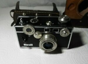 """VINTAGE  ARGUS C-3 VARIANT 35mm CAMERA """"THE BRICK"""" 50mm LENS WITH CASE READ!!!!"""