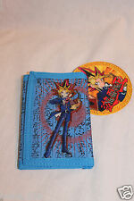 NEW  IN PACKAGE 1996 YU GI OH BLUE TRIFOLD  WALLET