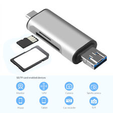 3 In 1 USB 3.0 SD Card Reader, USB Type C Memory Card Reader for Samsung Phone