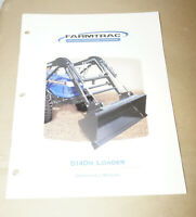 2004 Farmtrac 5140M Loader Operator's Manual P/N 755297