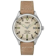 Timex Originals TW2P84500 Mens Waterbury Mid Size Tan Leather Strap Watch £79.99