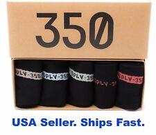 Yeezy Suppy Boost 350 v2 No Show Socks Gift Box Set 5 Pairs NMD + 1 BONUS PAIR