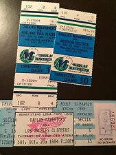 Dallas Mavericks 1984 Nba ticket stubs - One ticket