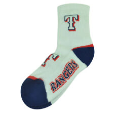 MLB Texas Rangers Large Hombres 8-13 Calcetines Tobillo Blanco Spirit Juego