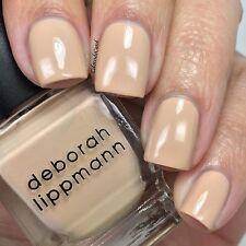 NEW! Deborah Lippmann SHIFTING SANDS Polish Lacquer full size Light Khaki Creme