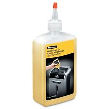 Fellowes 35250 Shredder Performance Oil Lubricant Bottle with Nozzle - 355 ml