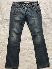 MET Women's Jeans Trousers Denim Skinny Angel Blue D870A Size: 31