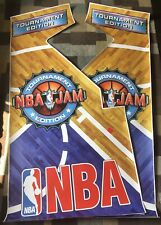 Nba Jam Tournament Edition Te Arcade Side Art Artwork Decal Overlay Vinyl Midway