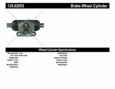 Drum Brake Wheel Cylinder-Sedan Rear Centric 135.62053