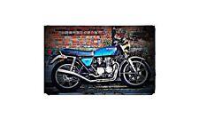 1978 honda cb550f2 super sport Bike Motorcycle A4 Retro Metal Sign Aluminium