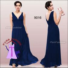 Ropa, calzado y complementos de dama de honor sin marca color principal azul sin mangas