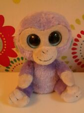 Rare Ty Beanie Boo Boos Monkey BLUEBERRY Soft Toy