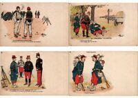 A. GUILLAUME ARTIST SIGNED MILITARY HUMOR 67 Vintage Postcard (2318)