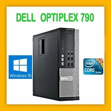 DELL OPTIPLEX 790 INTEL CORE i5 3.1GHZ 4GB 250GB DVDRW WINDOWS 10 PRO