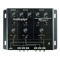 Audiopipe XV3V15BP 3 Way Active Crossover with Bandpass Filter