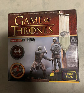 2015 Mcfarlane Game of Thrones House Stark Banner Pack 44 Pcs 19362