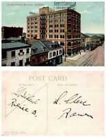 CANADA Postcard Quebec - Railway Building (A4)