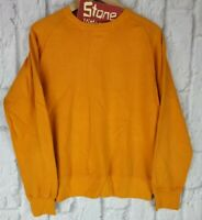 Levis Vintage Clothing LVC Orange Bay Meadows Crew Sweater Jumper £175 New S M